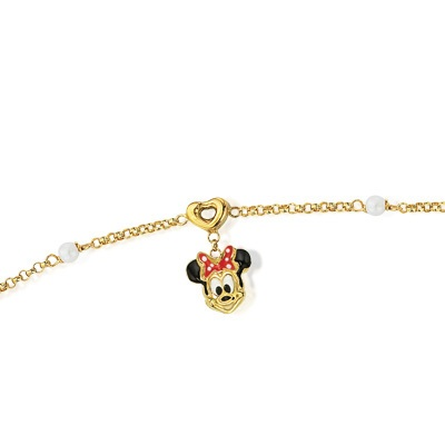 Fufoo Child\'s Enamel Minnie Mouse and Cultured Freshwater Pearl
