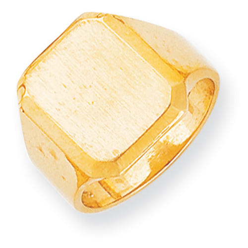 14k Men\'s Signet Ring