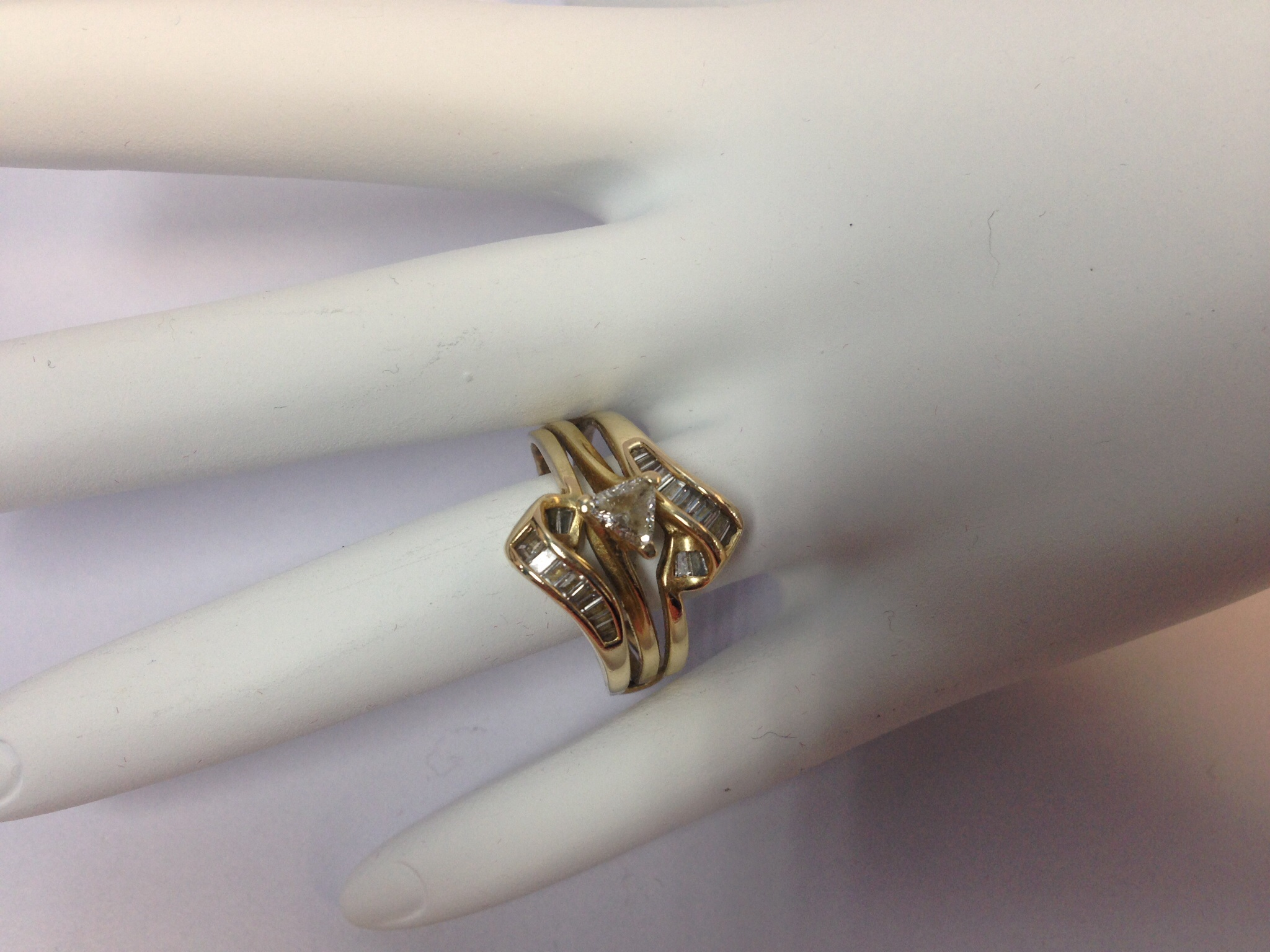 1.0 CT. 14K Yellow Gold Engagement Ring