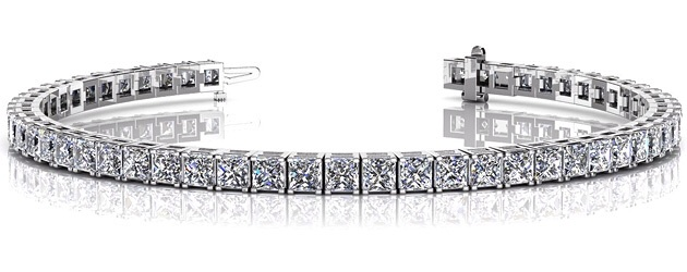 Princess Cut Dreams Bracelet