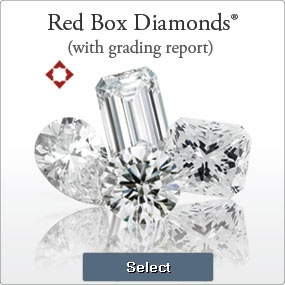 Diamonds With Grading Report