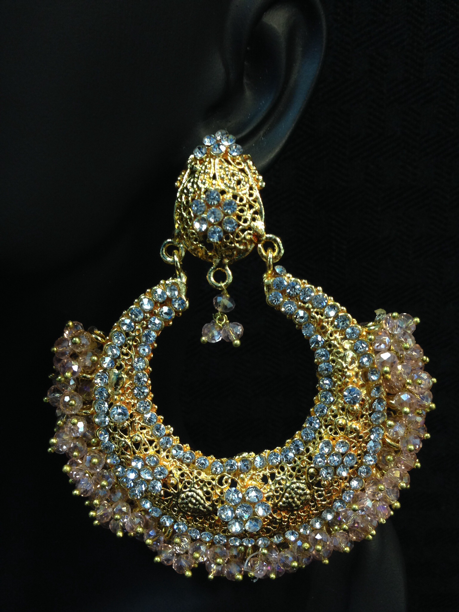 Exquisite Kundan Earrings