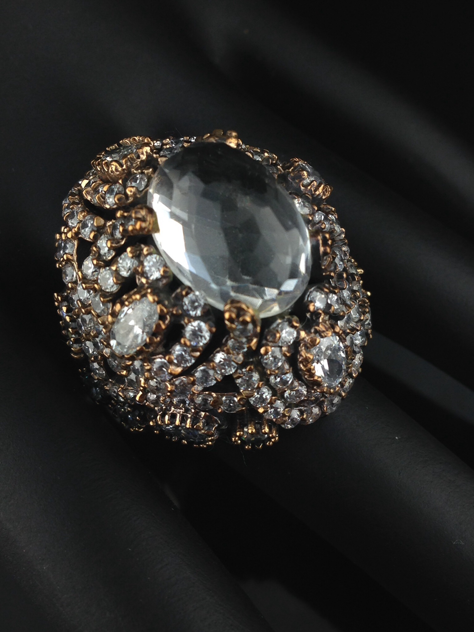 Turkish Ring With CZ