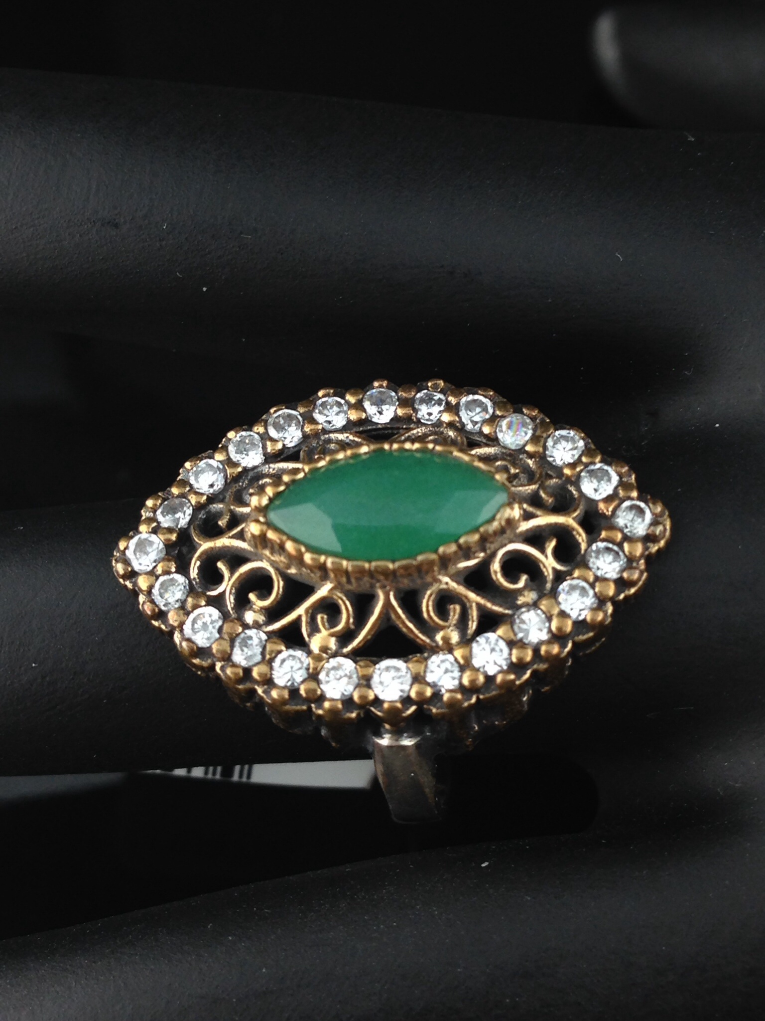 Turkish Emerald Ring