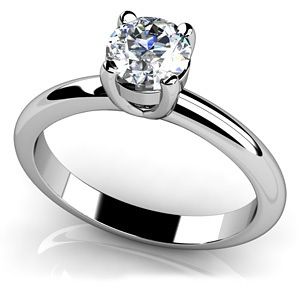 Round Cut Solitaire